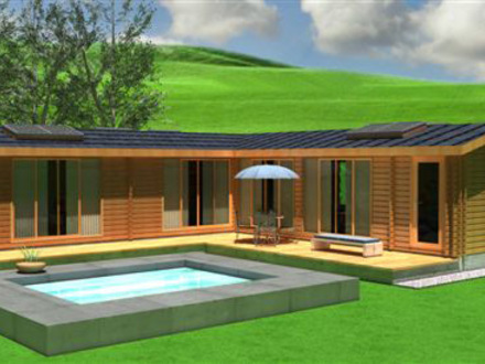 Eco friendly house floor plans eco friendly tiles eco for Eco cabin kits