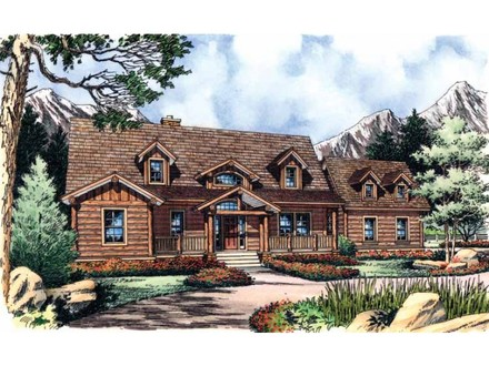 Log Cabin Style House Plans Log Cabin Floor Plans and Designs