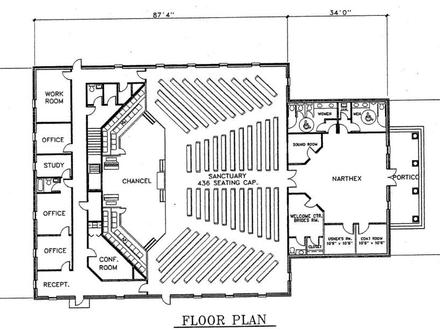 Medical office floor plan medical office layout floor for Metal building office floor plans