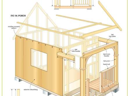 Micro Cabin Plans Free Free Cabin Plans