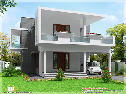 Modern 3 Bedroom House Three Bedroom House Design