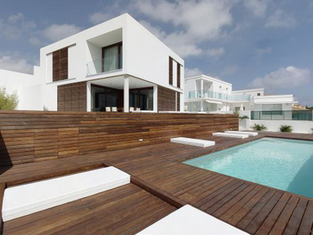 Modern Square Houses Architecture Spanish Architecture Modern Houses