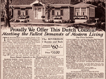Montgomery Ward Kit House Plans Dutch Colonial Montgomery Ward Catalog Homes