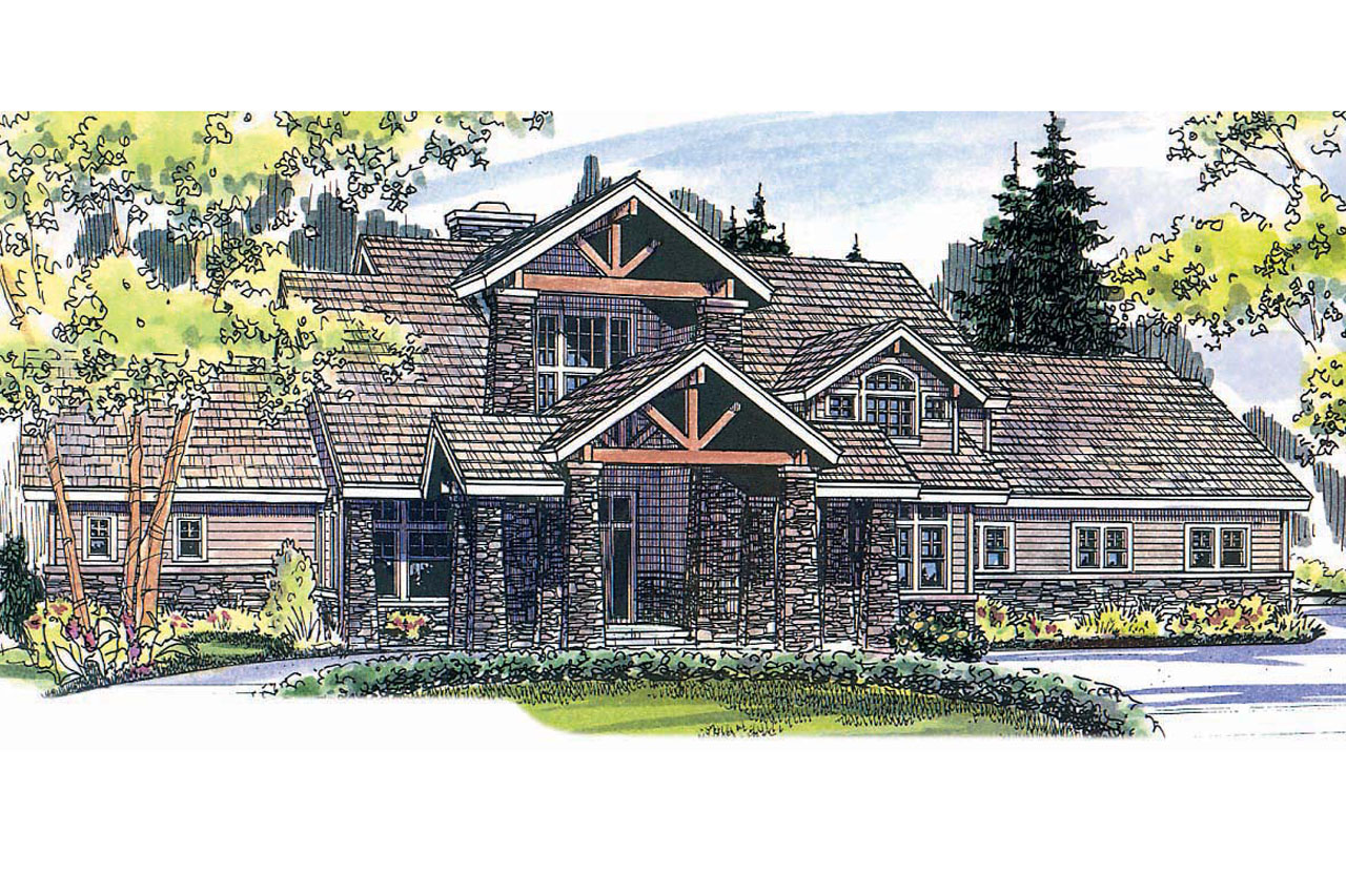 Mountain lodge house plans lodge style house plans for Mountain style home plans