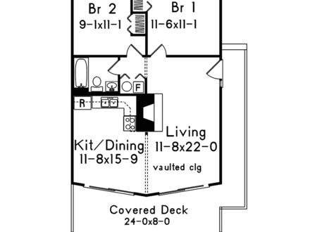 Open Floor Plans Small Home Lake Home Floor Plans