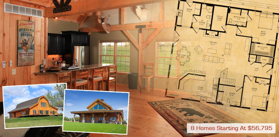 Post and beam barn homes post and beam home kits country for Post and beam barn home kits