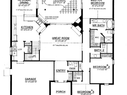 2 story house plans with angled garage custom 2 story for Expandable floor plans