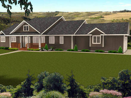 Ranch Style Home Plans Decks for Ranch Style Homes