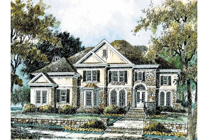 Rustic House Plans 3-Bedroom Eplans French Country House Plan
