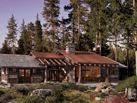 Rustic Log Cabin Home Plans Old Rustic Cabins