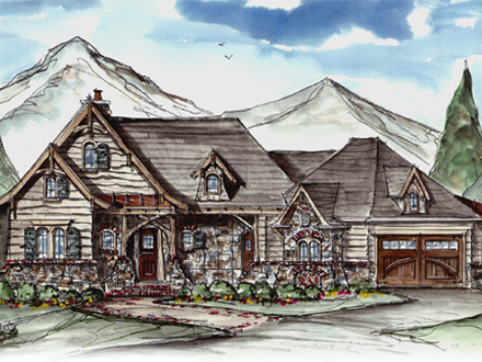 Rustic Mountain House Plans Rustic Craftsman House Plans