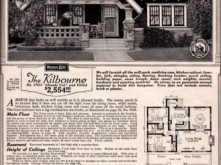 Sears Craftsman Bungalow House Plans Sears Craftsman Cottages