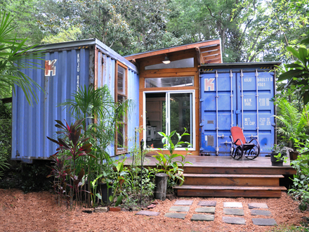 Shipping Container Tiny Home Shipping Container Hunting Cabin