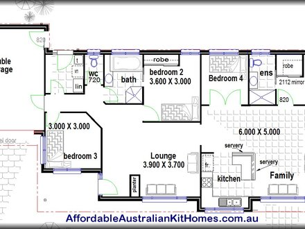Simple 4 Bedroom House Plans 4 Bedroom House Plans
