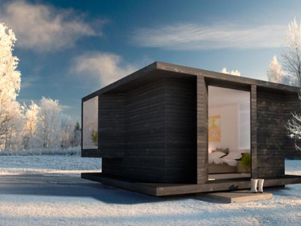 Simple Cabin Plans Compact Cabins Double as Guest Houses, Studios and Saunas! Modern