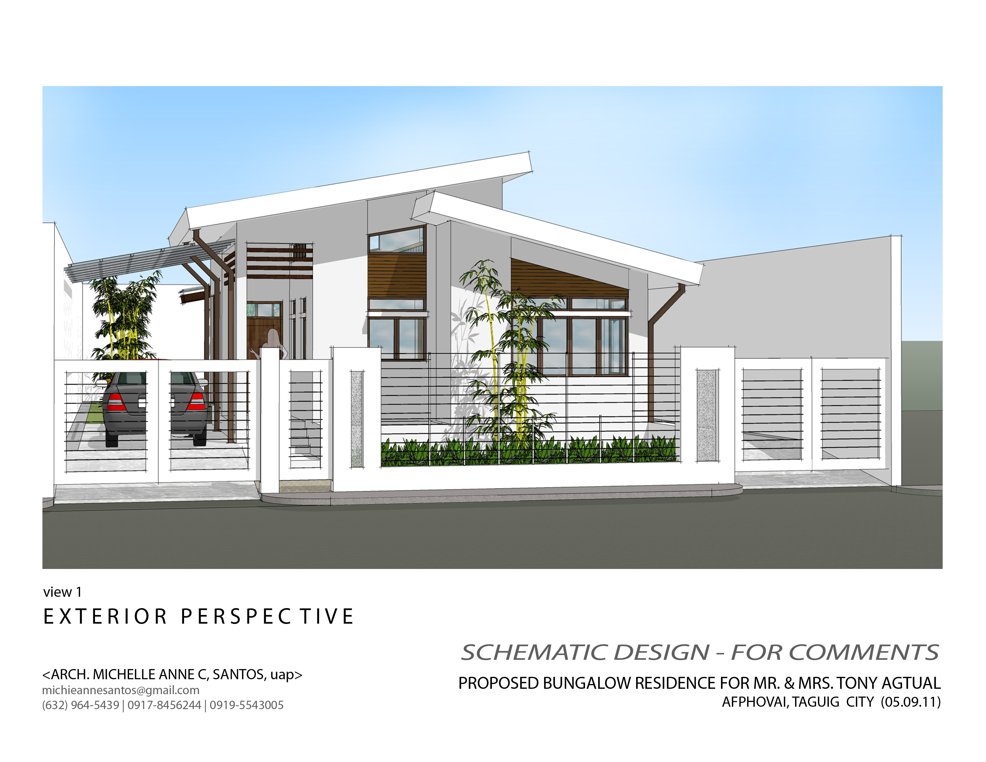 simple house bungalow design philippines design simple house manshownate lrg 44dbe2a16d745eae - 50+ Small Modern Simple Minimalist Bungalow House Design Pics
