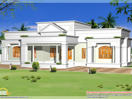 Single Storey House Design Plan Kerala Style Single Story House