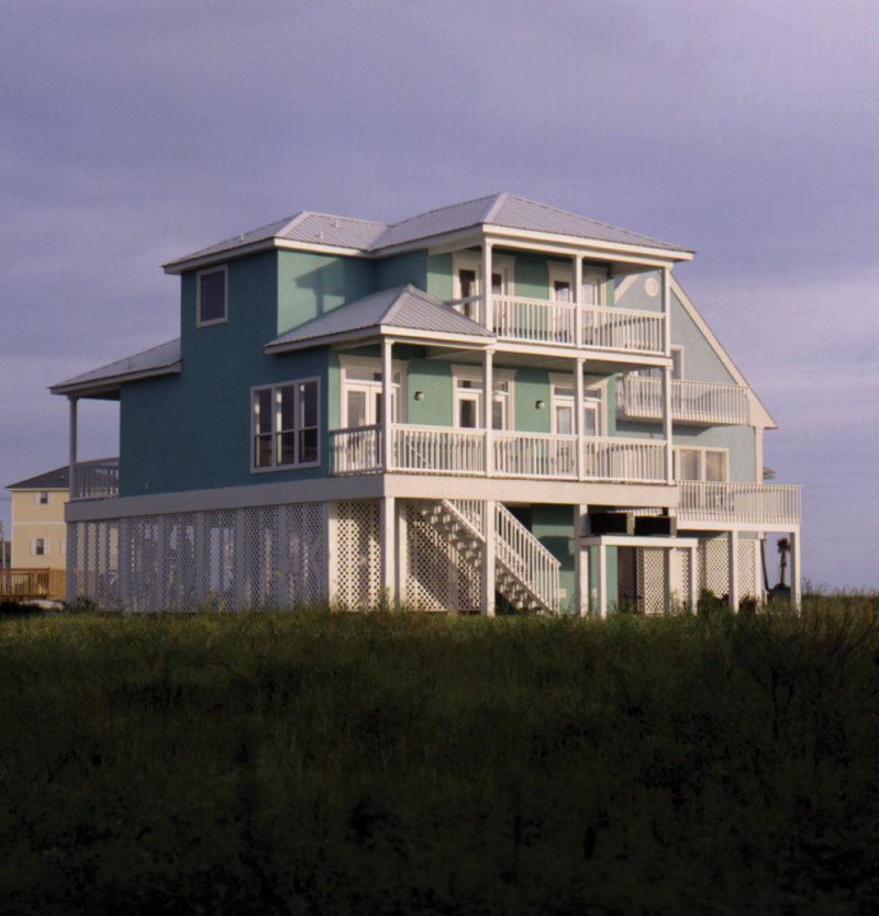 Small 2 Story Beach House Home Plans Raised Beach House