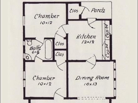 Small Bungalow House Floor Plans Modern Small House Bungalow