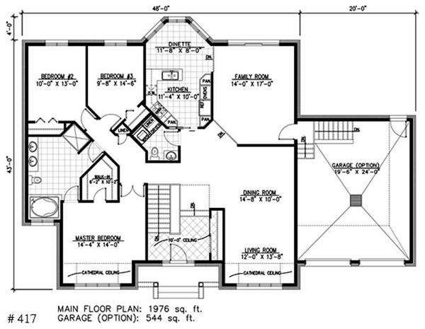Small bungalow house plans tudor one story bungalow house for Small tudor house plans