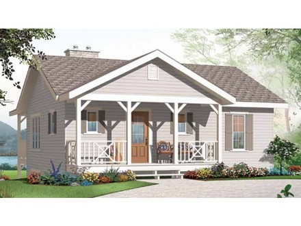 Small Bungalow House Plans with 3 Bedrooms Modern Small House Plans