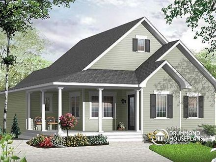 Small Cape Cod House Plans with Porches Cape Cod Tiny House