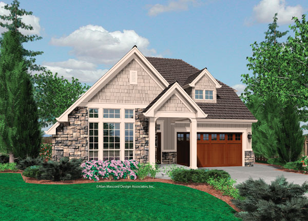 Small Cottage House Plans for Homes Small-Cottage -Guest-House-Plans