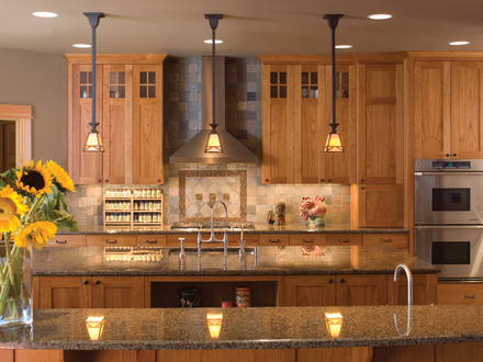Small Craftsman Style Kitchen Craftsman Style Kitchen Plans