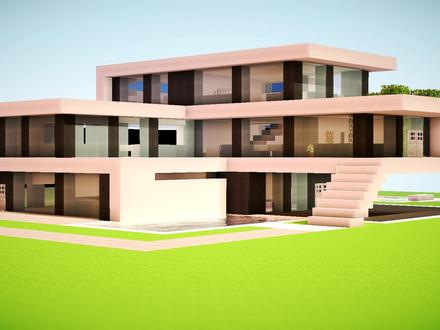 Small Modern House Minecraft Modern House