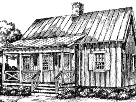 Rustic Lake Cabin House Plans
