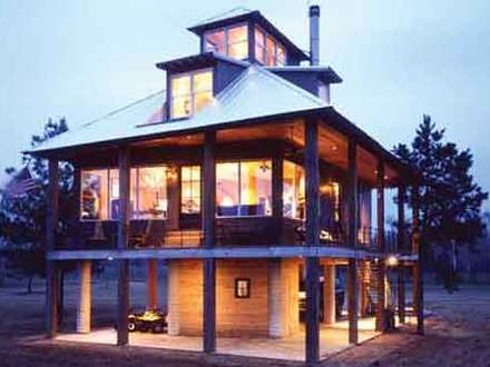 Tidewater Southern Cottage House Plans Elevated House Plans