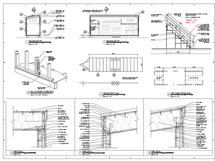 Tiny House Trailer Tiny House Plans Architectural