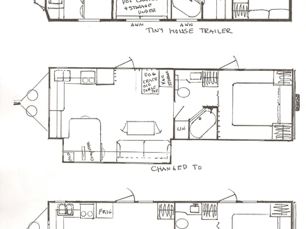 Tiny Houses Pictures Inside and Out Tiny House Floor Plans On Trailer
