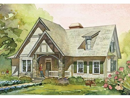 1920s English Cottage Style House Plans