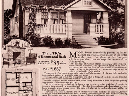 Modern ranch house plans 1930s house floor plans 1930 for Craftsman bungalow house plans 1930s
