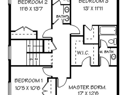 2 Floor House with Basement 2 Story House Floor Plans