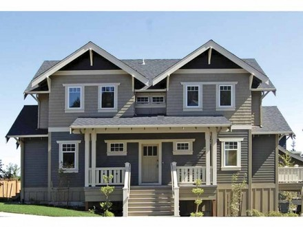 2 Story Craftsman Style Homes 2 Story Craftsman Bungalow House Plans