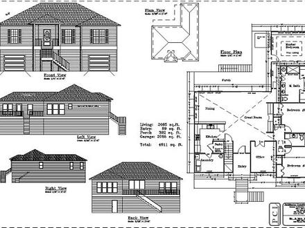 3-Bedroom Section 8 Houses 3 Bedroom House Floor Plans