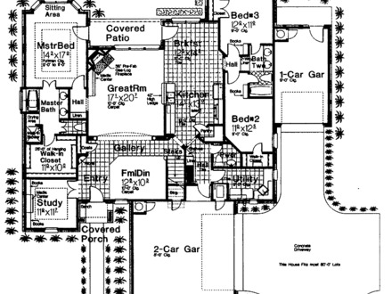 Small house plans under 1000 sq ft with garage 1000 sq ft for 2500 sq ft ranch floor plans