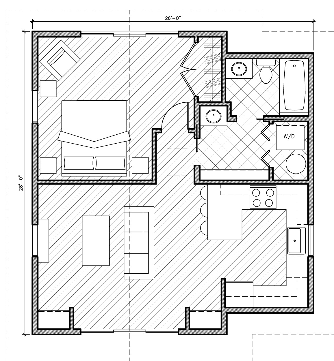 800 square feet house 1000 square feet house plans with for Home plan 800 square feet