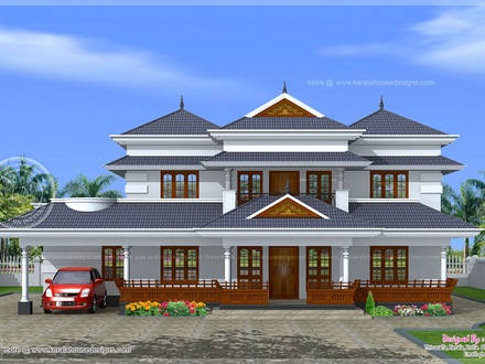 Architectural House Plans Kerala Traditional Kerala Home Designs