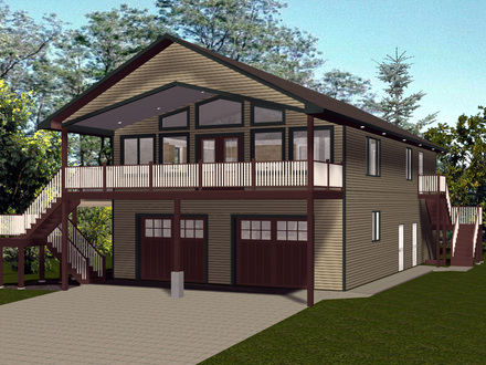 Bungalow Cottage House Plans Cottage Cabin House Plans