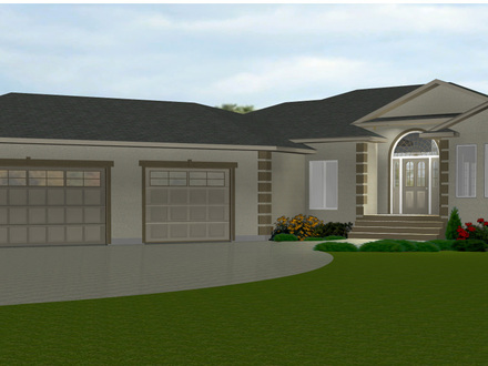 Bungalow House Plans with Porches Bungalow House Plans with Attached Garage