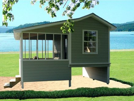 Cabin Playhouse Plans Outdoor Playhouse Plans with Loft