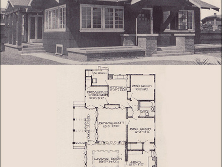 California Bungalow House New Orleans Small California Bungalow House Plans