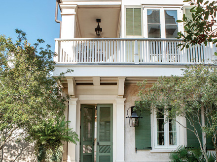 Charleston Style Beach Home Traditional Style Homes