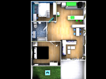 Close View of My House 3D House ~Top View~ by mayuki21 on DeviantArt