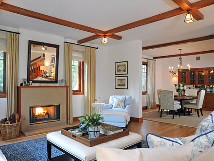 Contemporary Craftsman Homes Modern Craftsman Style Living Room