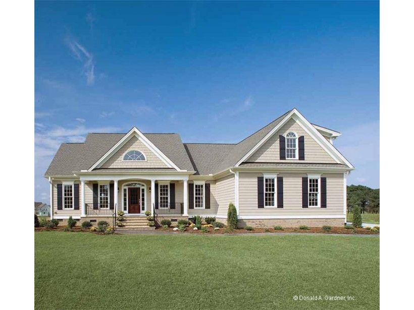Country House Plans One Story Homes Rustic Country House ...