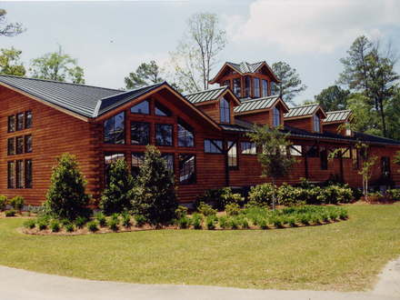 Country Log Homes Plans Country Log Home